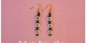 Tutorial: Daisy Chain Beaded Earrings