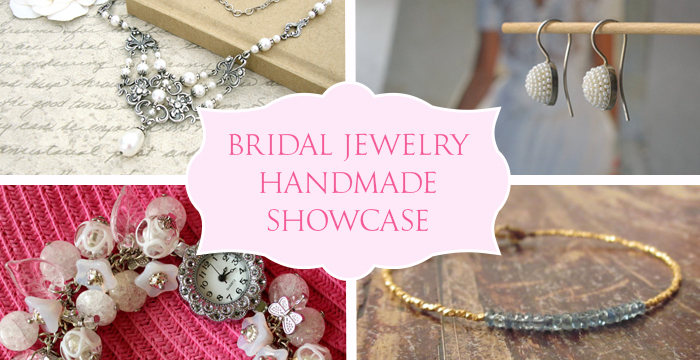 Handmade Showcase Bridal Jewelry Golden Age Beads