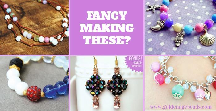 44393b5fa3e23 New Product Launch – Jewelry Making Kits! | Golden Age Beads