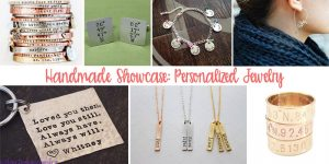 Handmade Showcase – Personalized Jewelry Gifts