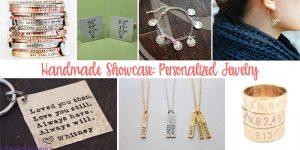 Handmade Showcase – Personalized Jewelry Gifts