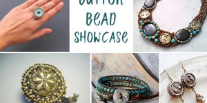 Button Bead Jewelry Showcase