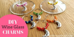 How to Make a Wine Charm with Memory Wire