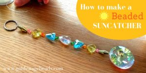 How to Make a Beaded Suncatcher