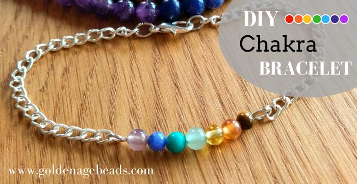 How to Make a 7 Chakra Bracelet (2 Ways) | Golden Age Beads