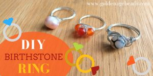 DIY Birthstone Ring