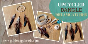 DIY Upcycled Bangle Dreamcatcher