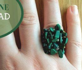 Make a Gorgeous Giftable Gemstone Ring