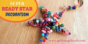 DIY Super Beady Star Decoration!
