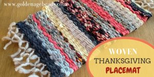 Woven Thanksgiving Placemat Project