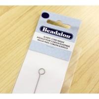 Elastic Cord Needle by Beadalon, 8 Inch
