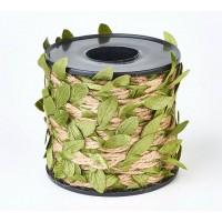 Decorative Leaf Hemp Cord, Sold by 10m Roll