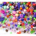 Craft Seed Bead Mix N1, Various Sizes and Colors, 50 Gram Bag