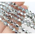 Vitrail Light Czech Crystal Beads by Preciosa, 4mm Faceted Bicone, Strand