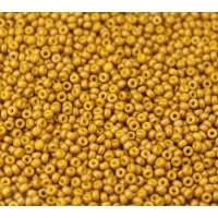 11/0 Miyuki Round Rocaille Seed Beads, Duracoat Nutmeg Yellow, 10 Gram Bag