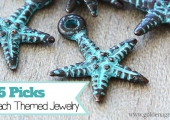 Bead Giveaway - Top 5 Picks for Beach Themed Jewelry