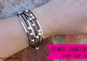 How to Make a Multi-Strand Cord Bracelet