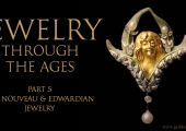 Jewelry Through The Ages Part 5: Art Nouveau and Edwardian Jewelry