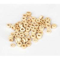 3mm Seed Matte Ceramic Beads, Ecru, 5 Gram Bag