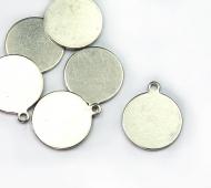 12mm Circle Stamping Blank, Alkeme