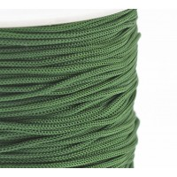 0.8mm Chinese Knotting Cord, Dark Green, 120 Meter Spool
