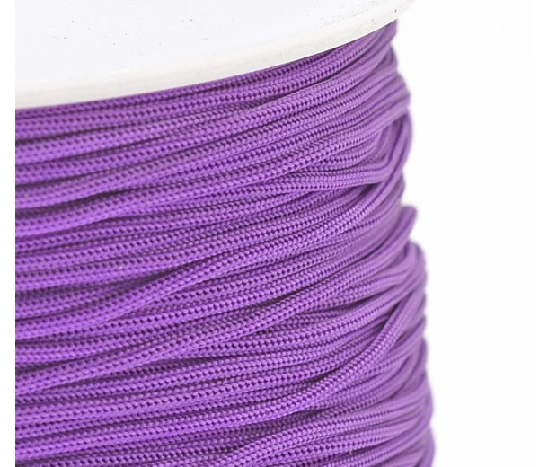 0.8mm Chinese Knotting Cord, Orchid Purple, 120 Meter Spool