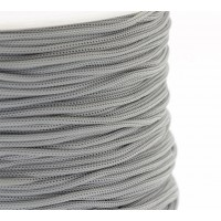 0.8mm Chinese Knotting Cord, Light Grey, 120 Meter Spool