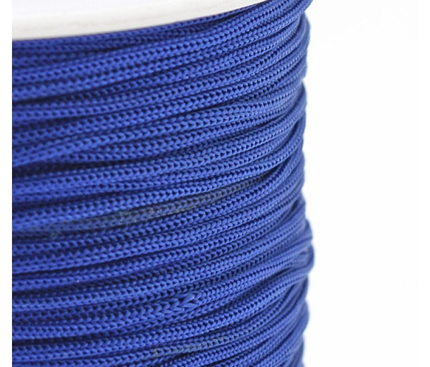 0.8mm Chinese Knotting Cord, Cobalt Blue, 120 Meter Spool