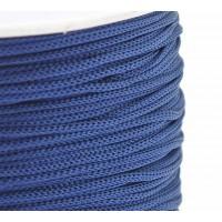 0.8mm Chinese Knotting Cord, Medium Blue, 120 Meter Spool