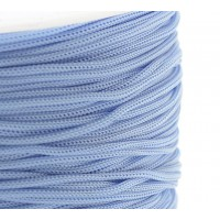 0.8mm Chinese Knotting Cord, Blue Mist, 120 Meter Spool