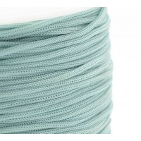 0.8mm Chinese Knotting Cord, Light Blue, 120 Meter Spool