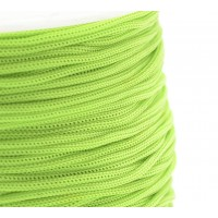 0.8mm Chinese Knotting Cord, Neon Green, 120 Meter Spool