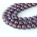 Bronze Illusion Czech Glass Beads, 4mm Round