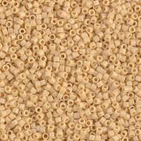 11/0 Miyuki Delica Seed Beads, Opaque Pear Yellow, 7.2 Gram Tube