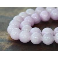 Lilac Mountain Jade Beads, 10mm Round