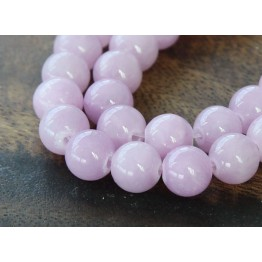 Lilac Mountain Jade Beads, 6mm Round