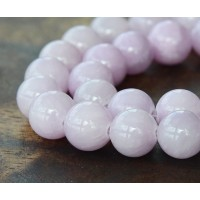 Lilac Mountain Jade Beads, 12mm Round