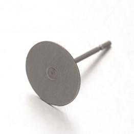 14mm Stainless Steel Earstud Blank