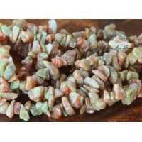 Autumn Jasper Beads, Medium Chip