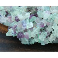 Fluorite Beads, Medium Chip