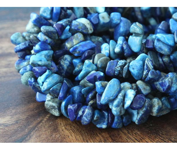 Lapis Lazuli Beads, Medium Chip