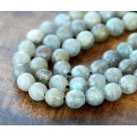 Labradorite Beads, 5-6mm Faceted Round