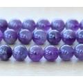 Amethyst Beads, Medium Purple, 10mm Round