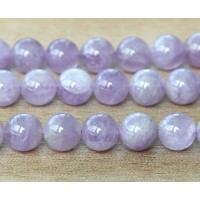 Amethyst Beads, Light Purple, 8mm Round