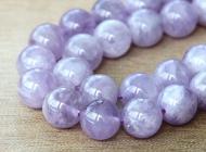 Amethyst Beads, Light Purple, 10mm Round