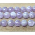 Amethyst Beads, Natural Light Purple, 10mm Round