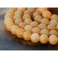 Red Aventurine Beads, 8mm Round