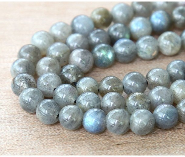 Labradorite Beads, 6mm Round
