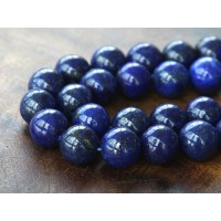 Lapis Lazuli Beads, 12mm Round
