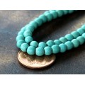 Magnesite Beads, Light Teal, 4mm Round